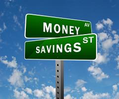money-savings-road-sign